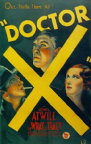 Doctor X 1932 DVD - Lionel Atwill / Fay Wray
